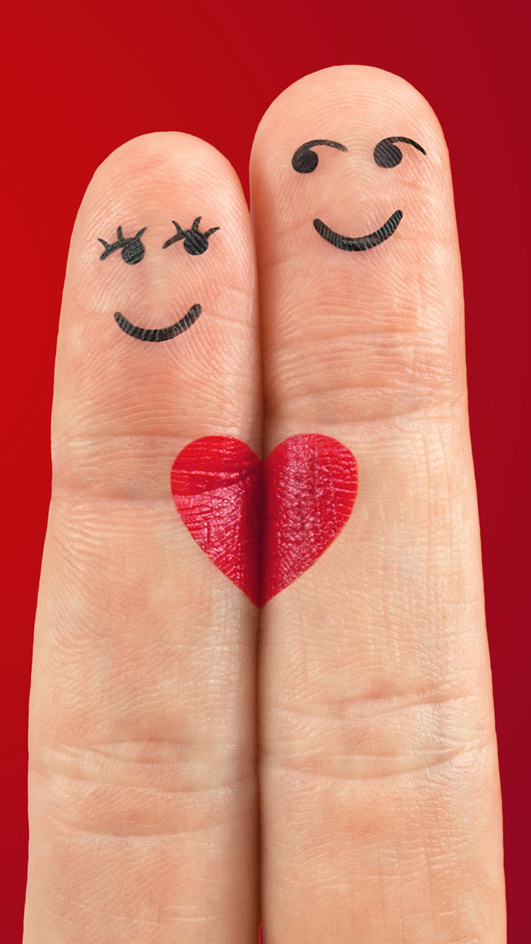 Heart-fingers-cool-iphone-6-wallpaper-Latest-2015