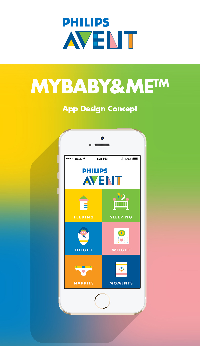 Philips AVENT My Baby & Me UX Design For Inspiration 2015 (3)
