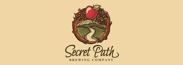 Secret Path logo illustration
