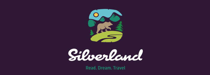 Silverland illustration logo