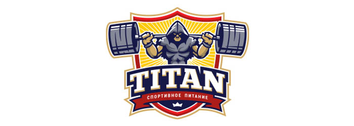 Titan logo illustration