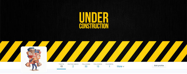 construction twitter cover