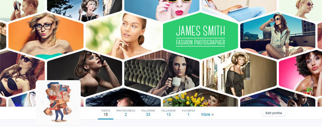 fashion twitter cover