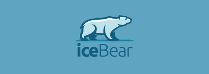 iceBear logo illustration