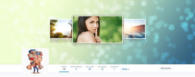 photo gallery twitter cover