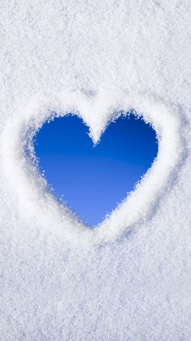 snow-heart-iphone-6-wallpaper-hd-Latest-2015