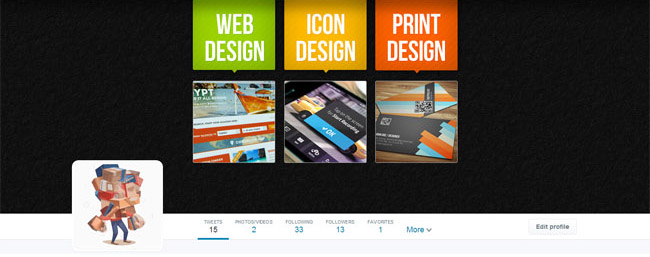 web design twitter cover