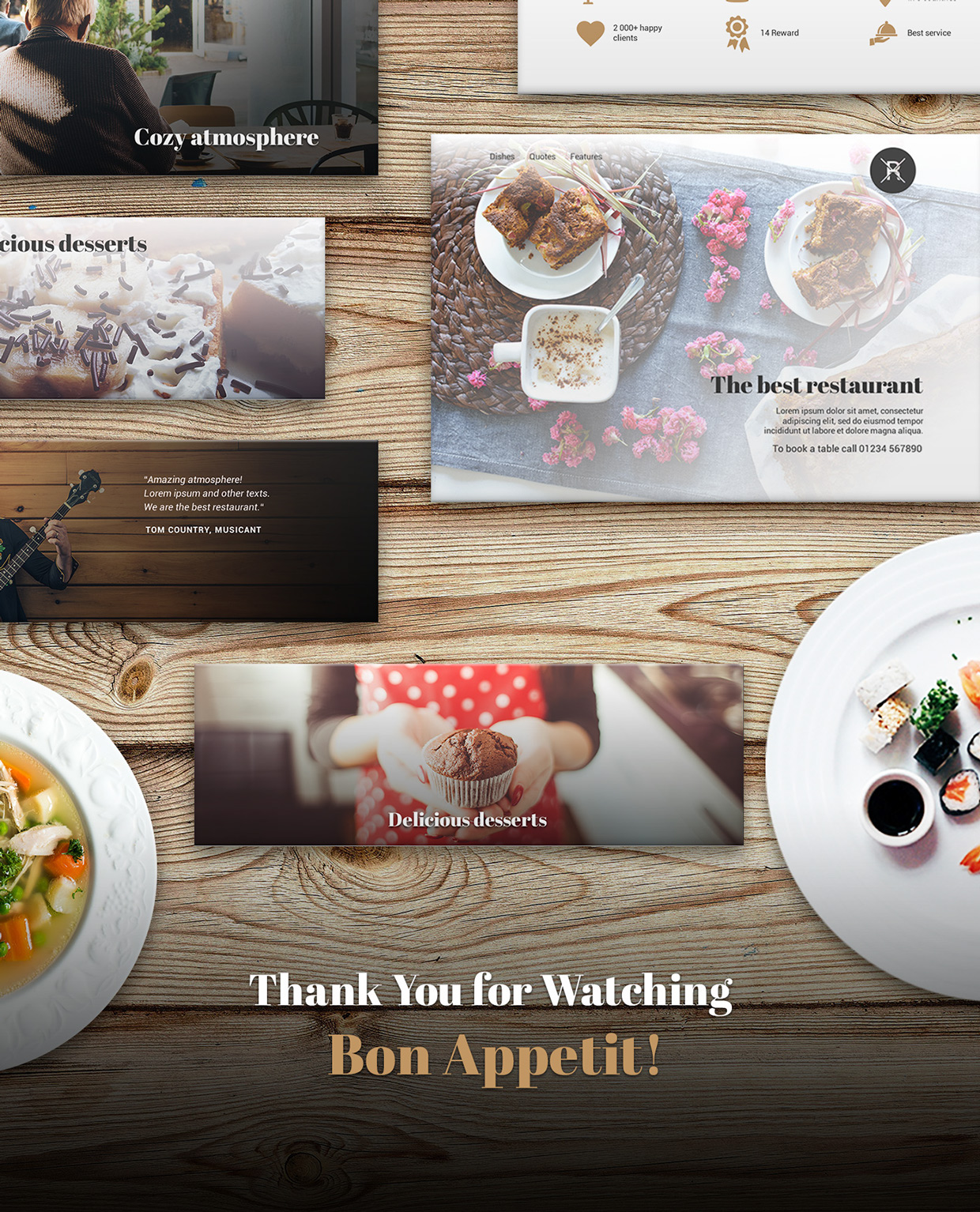 37 Free UX Psd Files of Restaurant Landing Page 2015  (6)