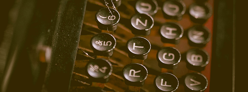 Antique Typewriter facebook Cover