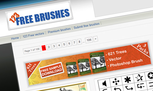 Best Websites For Photoshop Brushes Resources  2015 (4)