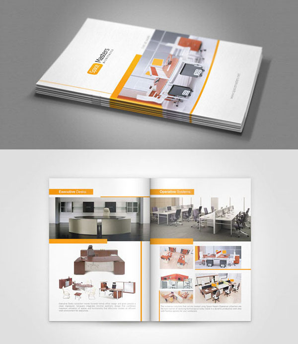 Furniture brochure design
