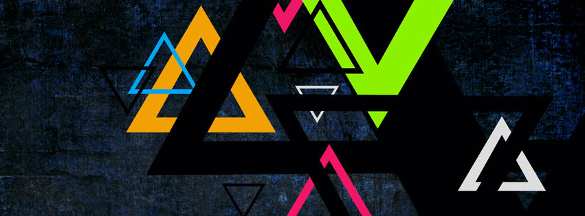 Geometrical Art Facebook Cover