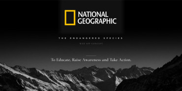 National Geographic UX Concept – The Endangered Species