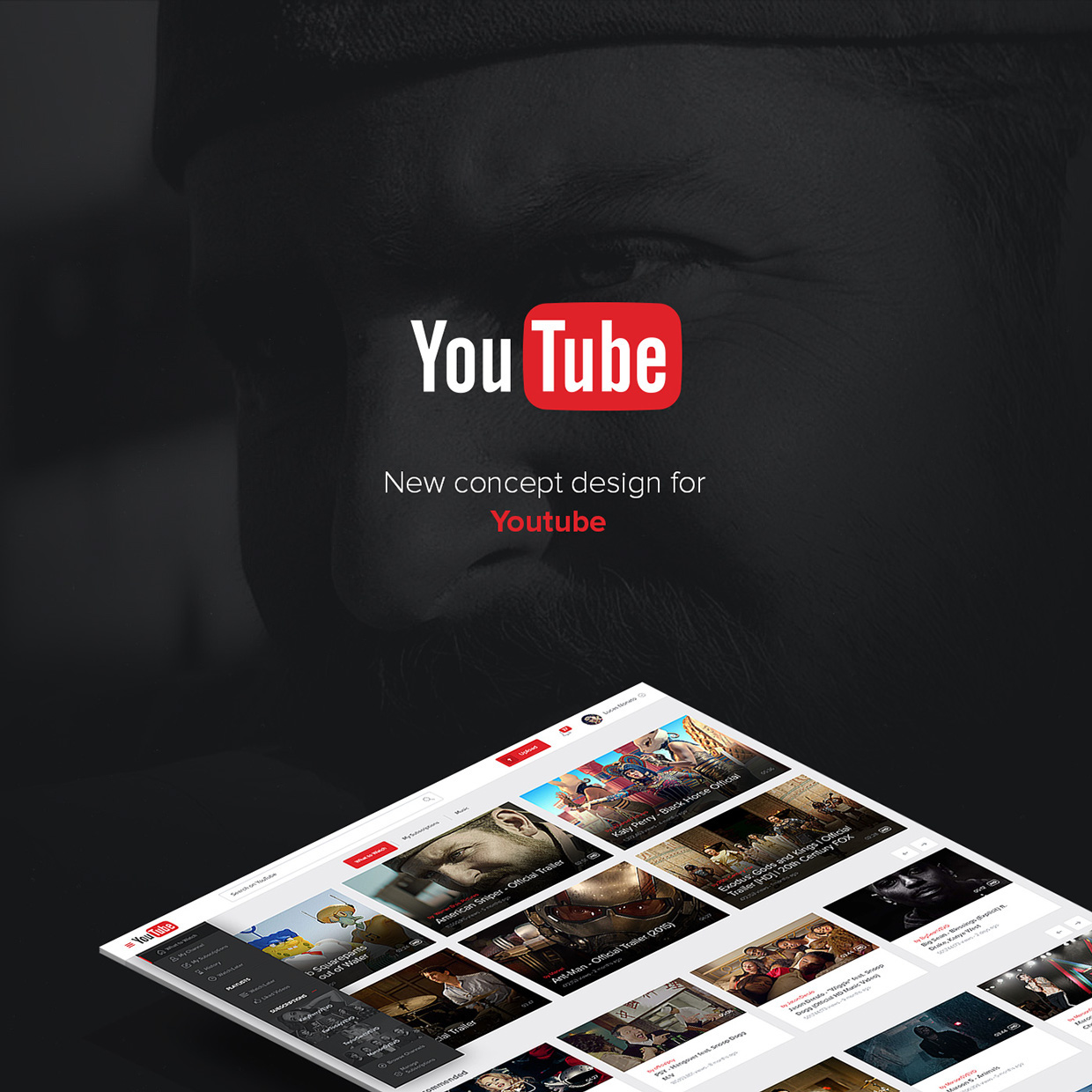 New UX Design Concept of YouTube 2015 By Lucas Nonato (1)