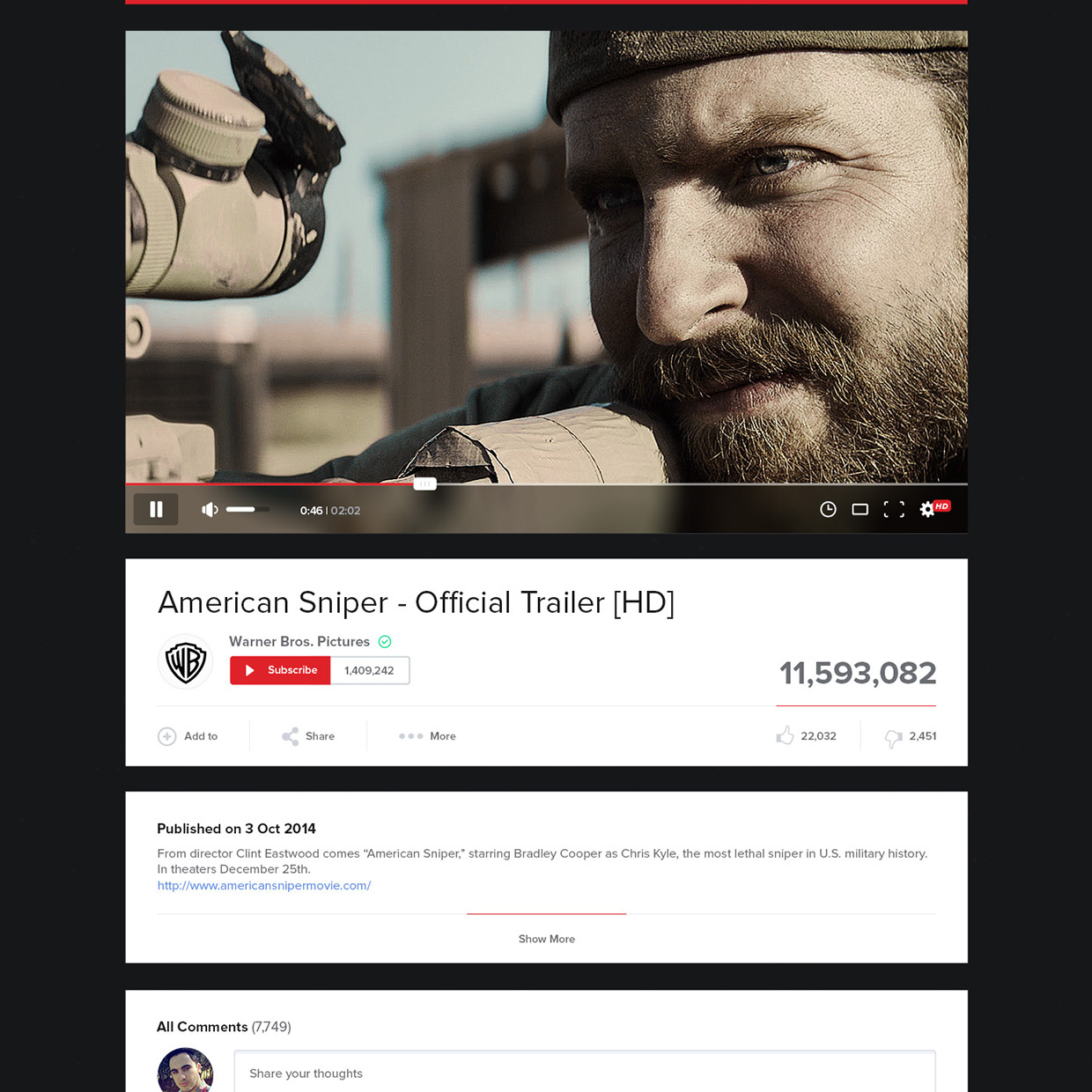 New UX Design Concept of YouTube 2015 By Lucas Nonato (11)