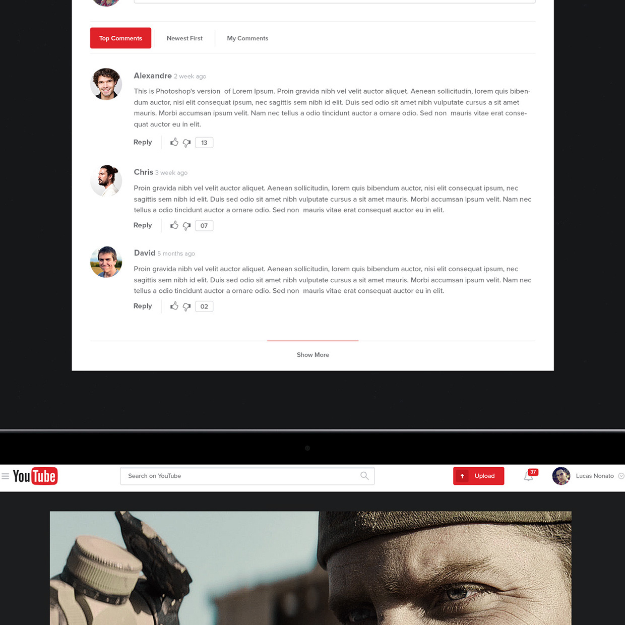 New UX Design Concept of YouTube 2015 By Lucas Nonato (12)