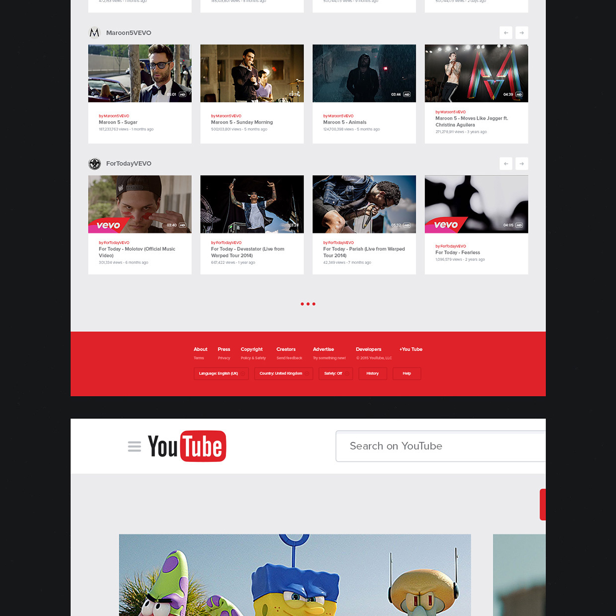 New UX Design Concept of YouTube 2015 By Lucas Nonato (4)