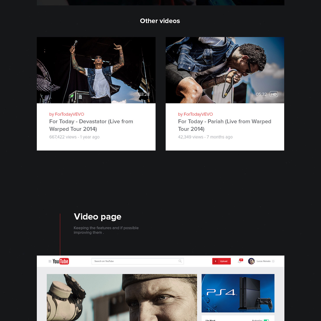 New UX Design Concept of YouTube 2015 By Lucas Nonato (9)