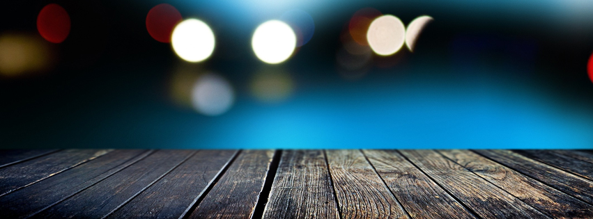Wooden Facebook Cover