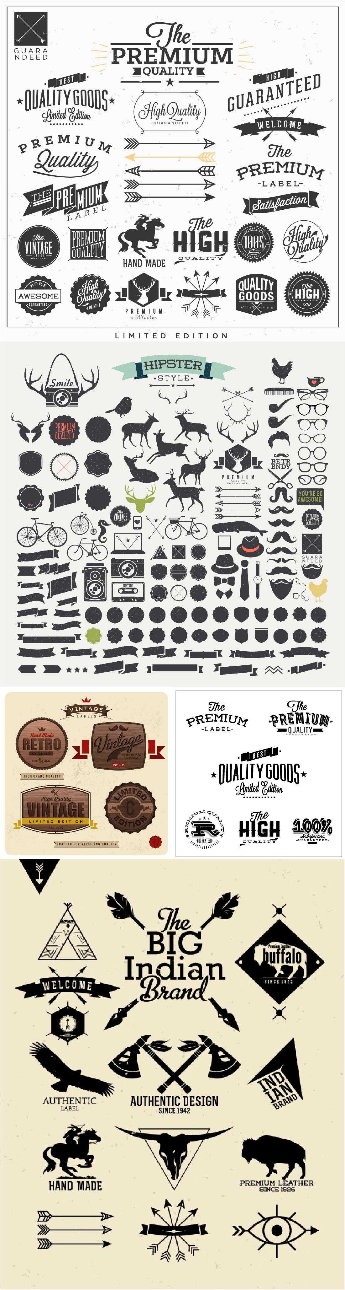 500+ Premium Vectors Collection 22