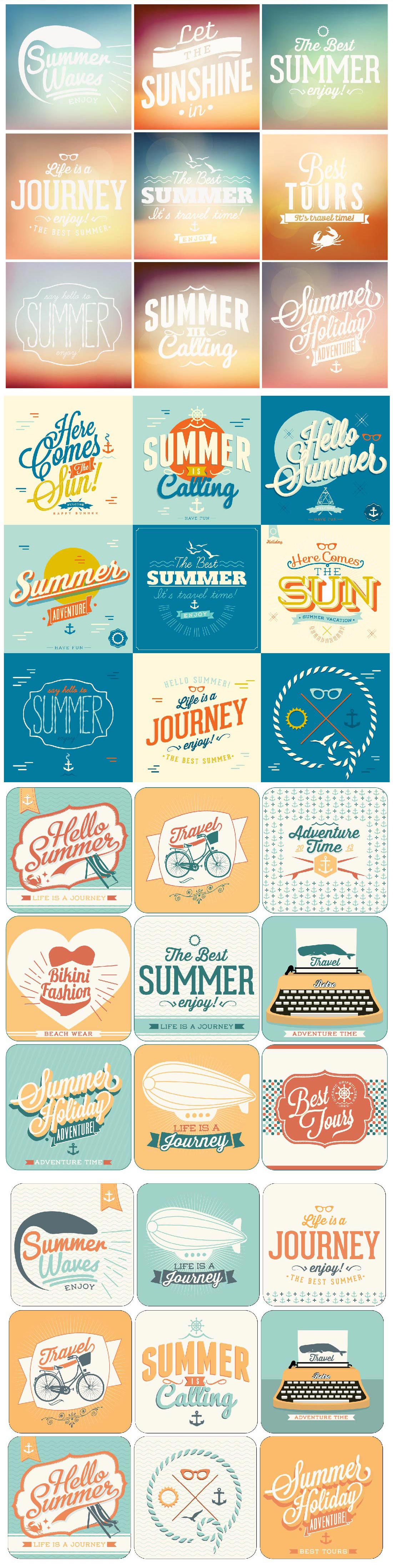 500+ Premium Vectors Collection 4