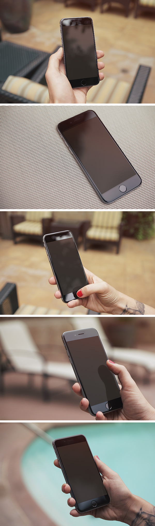Free 5 iPhone 6 Photo MockUps