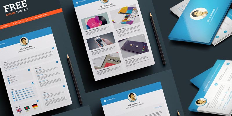 Cv resume archives a graphic world free designer resume and business card template reheart Image collections