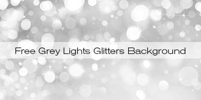 Free Grey Lights Glitters Background