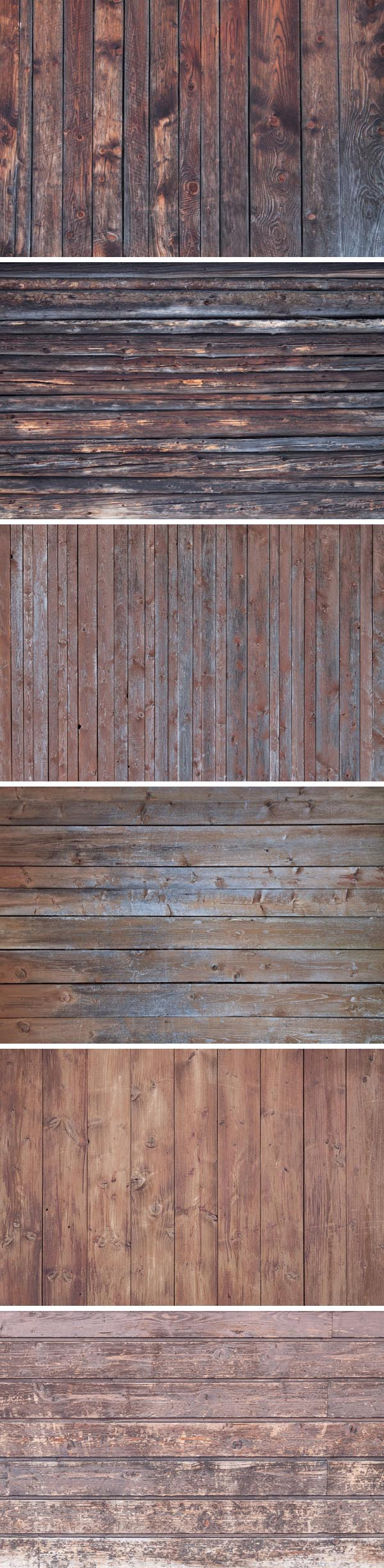 6 Free Vintage Wood Textures Backgrounds