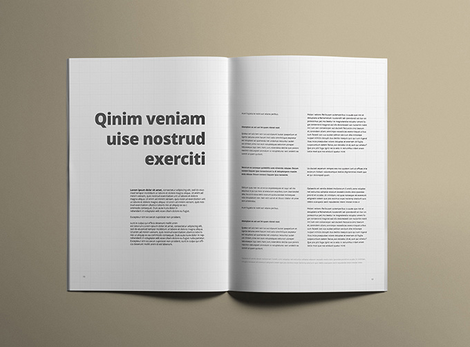 Free A4 Brochure Title and Inside Mockup (2)