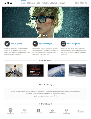 AXA-theme wordpress