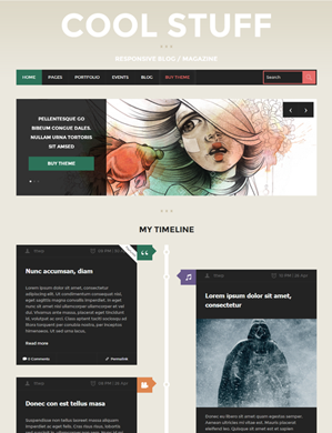 Cool-Stuff-theme wordpress