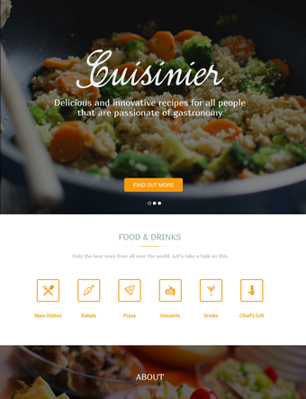 Cuisinier-wp-theme wordpress