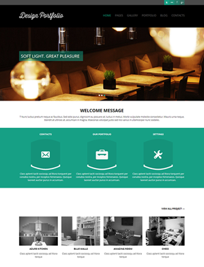 Design-Portfolio-theme wordpress