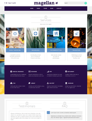 Magellan-theme wordpress