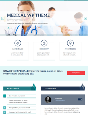 Medpark-theme wordpress