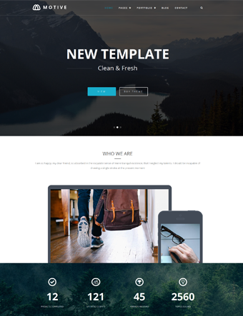 Motive-wp-theme wordpress