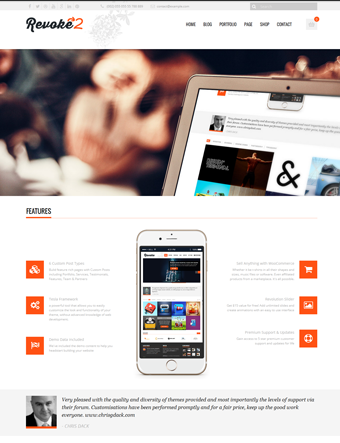 Revoke2-wp-theme wordpress