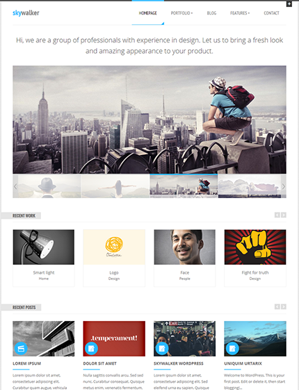 SkyWalker-theme wordpress