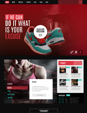 Sportify-theme wordpress