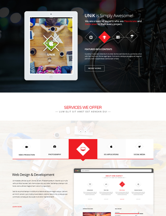 Unik-wp-theme wordpress