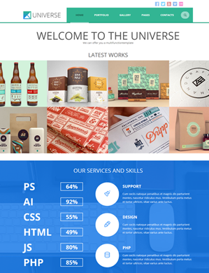 Universe-theme wordpress
