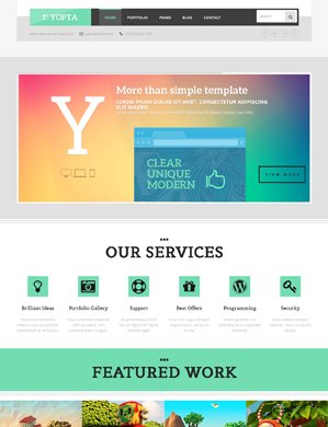 Yopta-theme wordpress