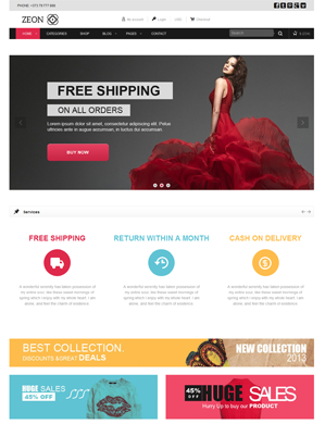 Zeon-theme wordpress