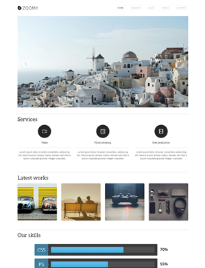 Zoomy-theme1 wordpress