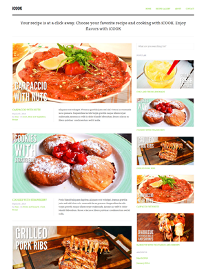 iCook-theme wordpress
