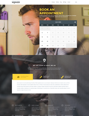 worker-wp-theme wordpress