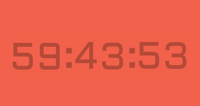 CSS-Only Countdown Clock Free
