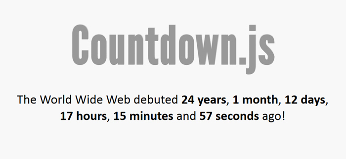 Countdown jQuery Free
