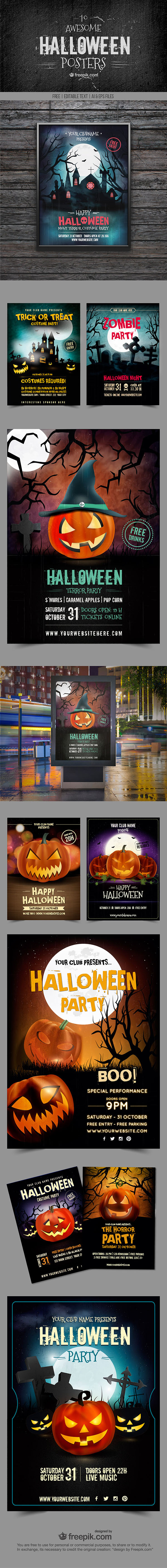 halloween free resources costume ideas posters vectors ideas